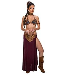 NWT slave Leia costume with accessories L